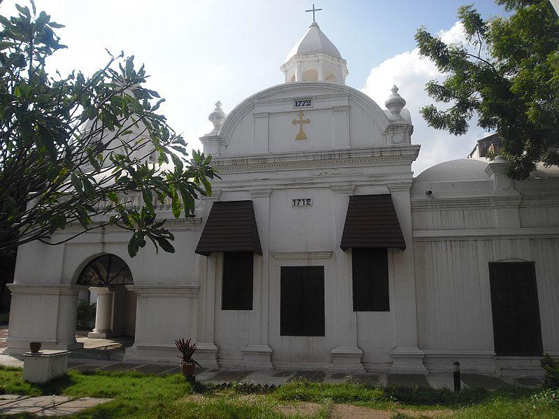 Armenian Church in Chennai, formerly known as Madras or Madarasapatinam