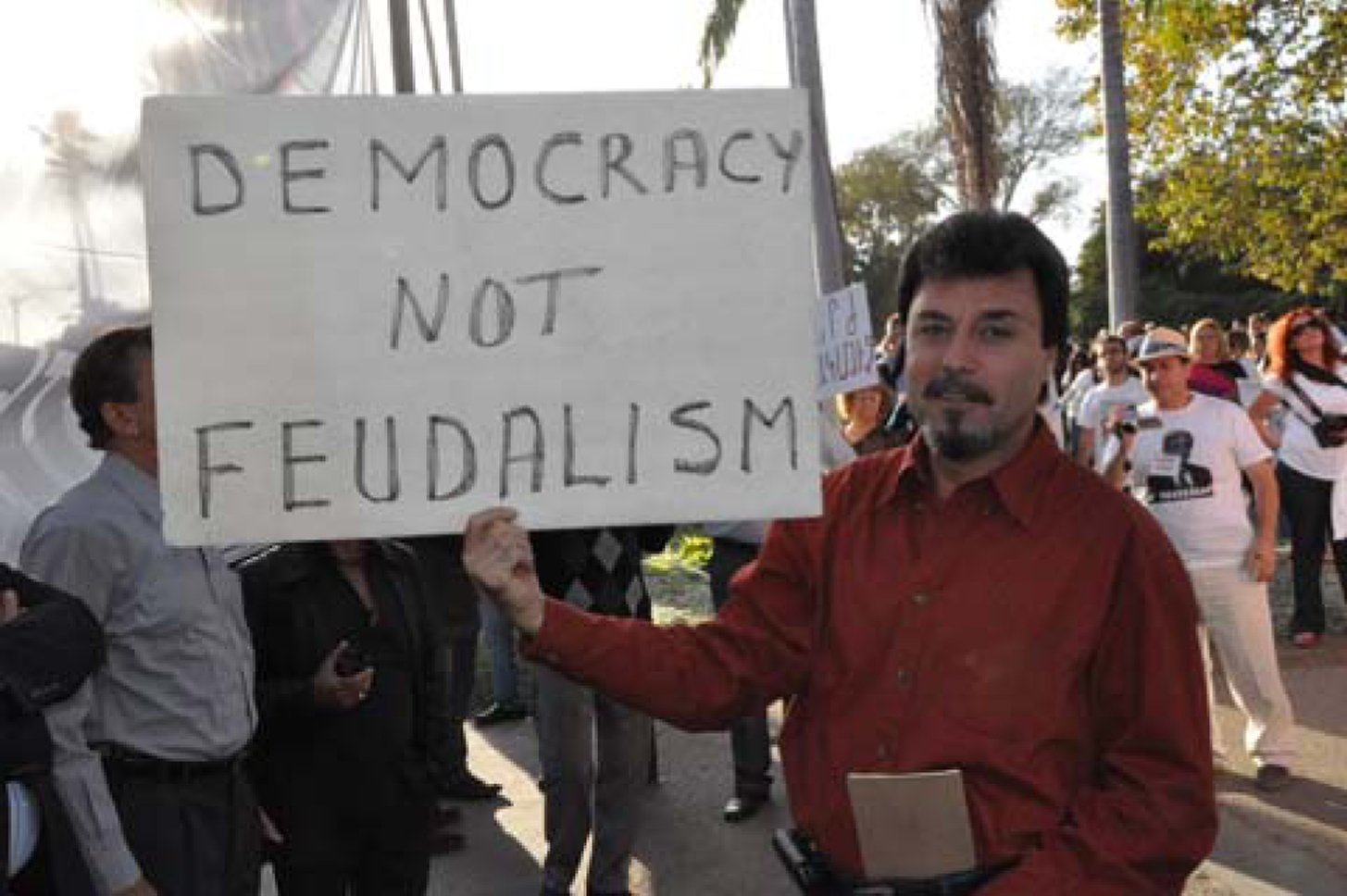 democracy, not feudalism