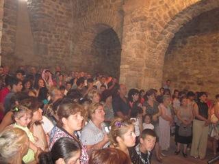 Yeghvard Community Gathers for Church Opening