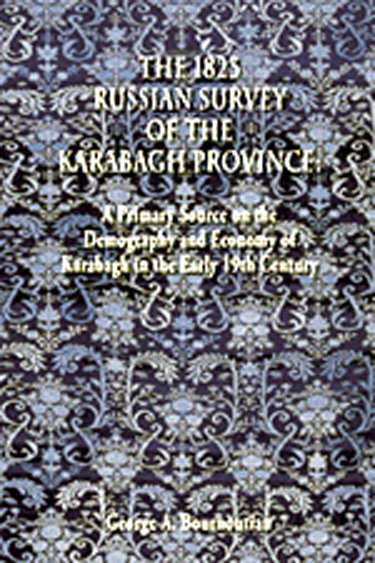 1823 Russian Survey of the Karabagh