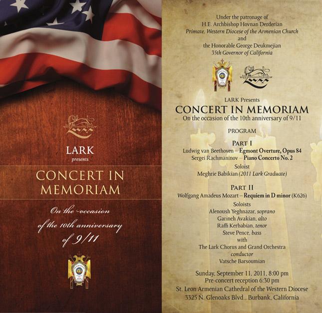 9-11 Concert in Memoriam 2