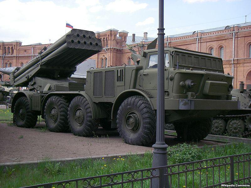 BM-27Uragan