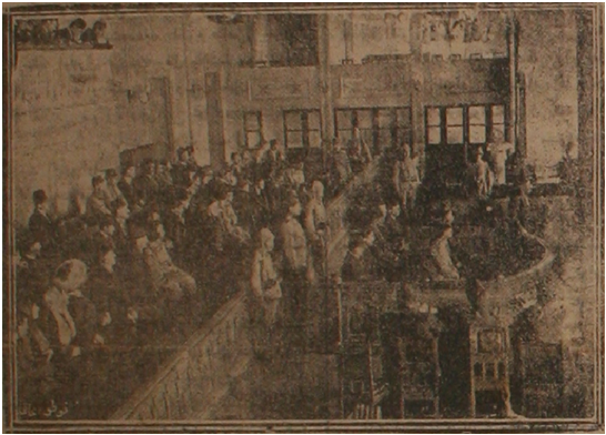Memleket April 8, 1919 Courtroom