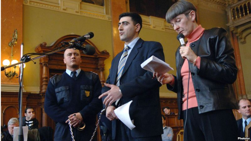 Ramil Safarov in Hungarian Court