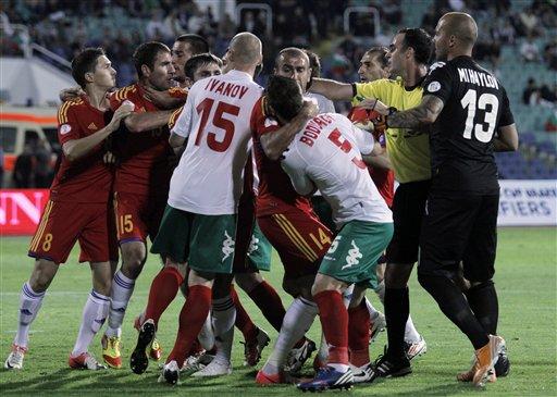 Bulgaria Armenia Soccer WCup