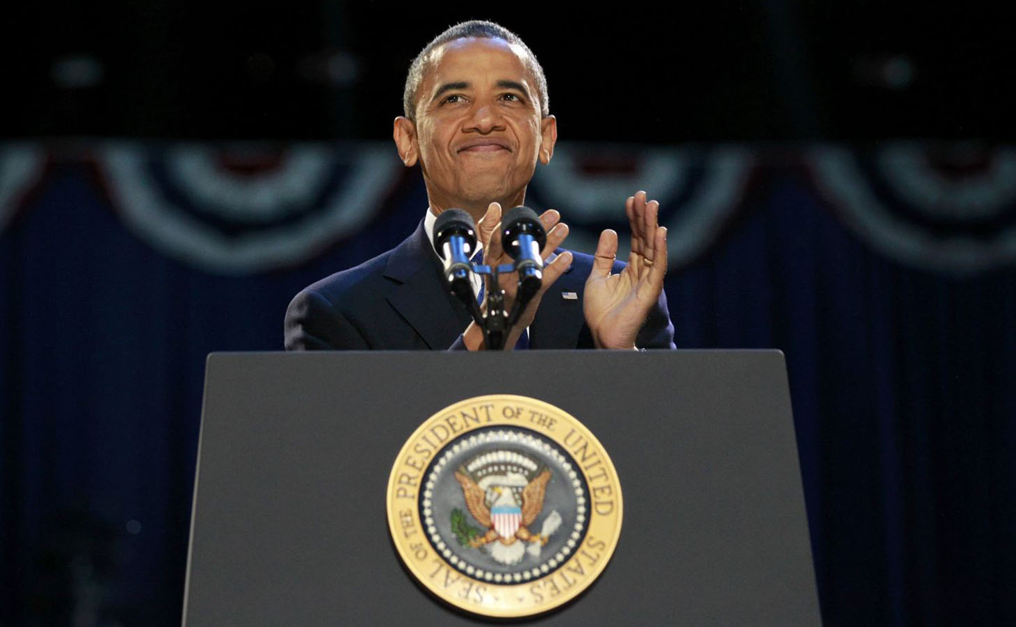 obama re election President barack obama has been re-elected to a second term, defeating republican challenger mitt romney america's first black president secured more than the 270.