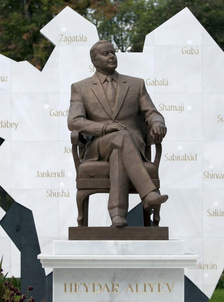 Mexico pulls Azerbaijan statue from park   Azerbaijan News