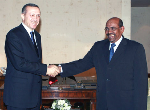 "Erdoðan with al-Bashir, said on November 2009: ""Muslims Incapable of Genocide"""