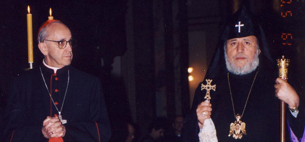 PopeFrancis-CatholicosKarekinII