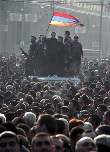 Armenia Election Protest