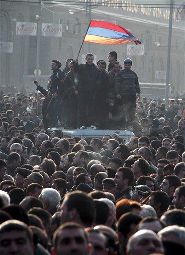 Armenia Election Protest