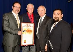 ACA members with Supervisor Michael D. Antonovich.