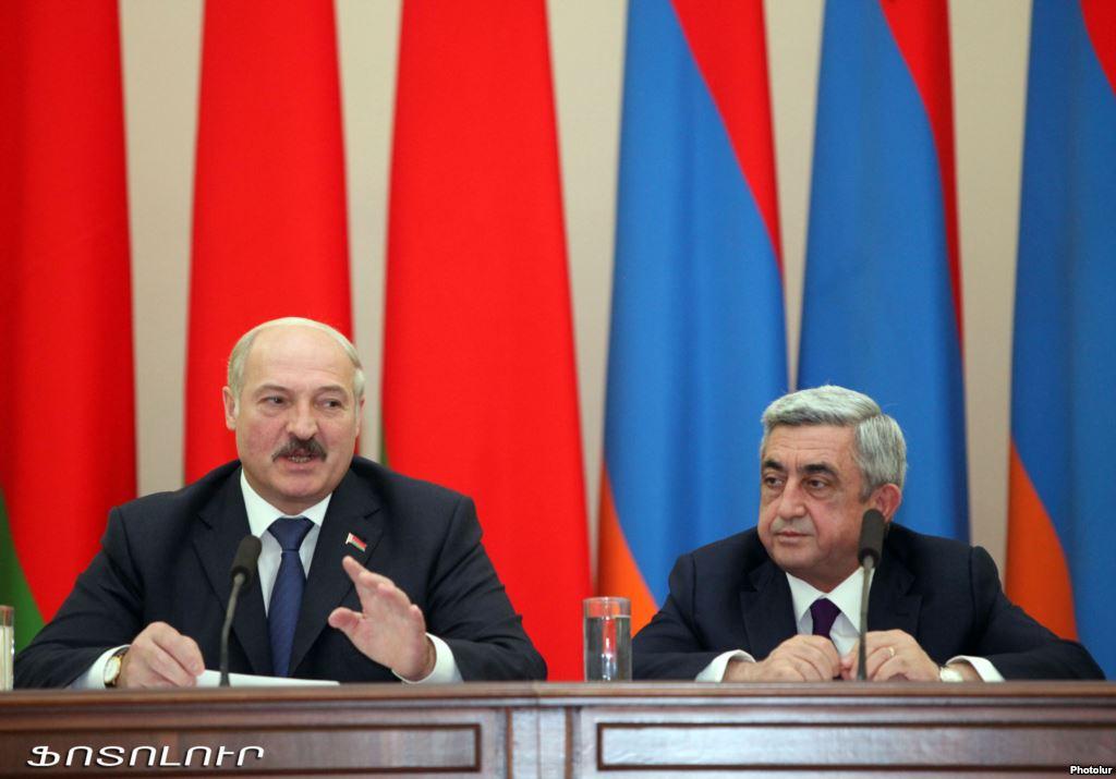 Lukashenka-Sarkissian