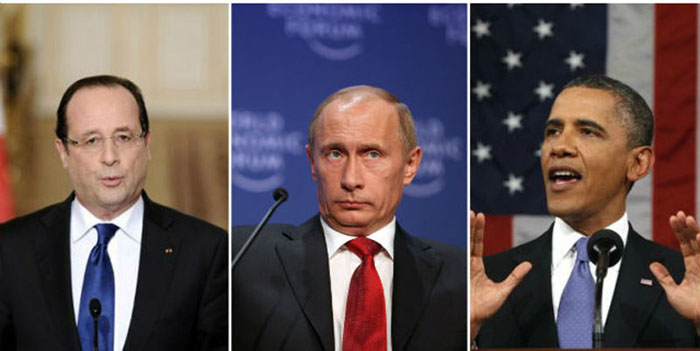 France-Russia-US