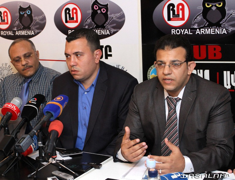 Journalists from Egypt are guests in Friday press club