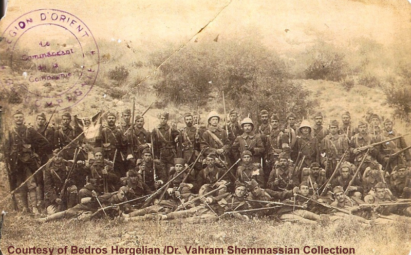 Flyer for Armenian Legion October 4, 2013