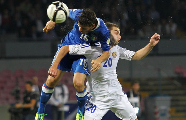 Italy v Armenia - FIFA 2014 World Cup Qualifier