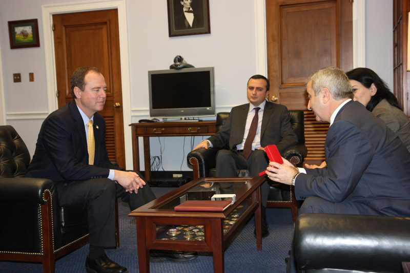 Schiff with NKR Speaker