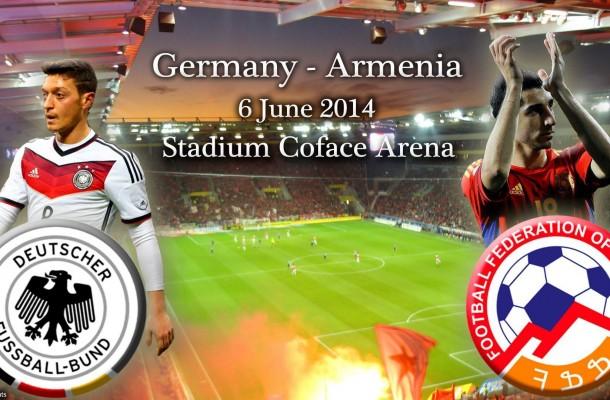 Германия – Армения. Товарищеский матч 2014