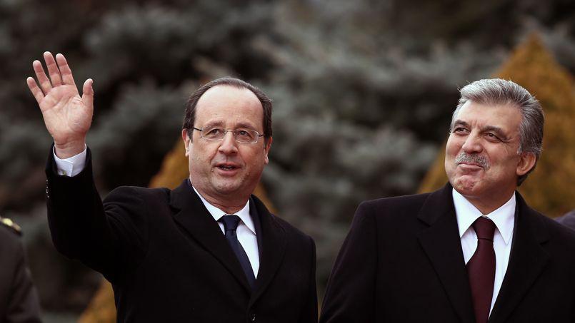 Francois Hollande, Abdullah Gul