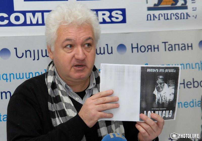 Publicist-analyst Sargis Hatspanyan is guest in Noyan Tapan press club