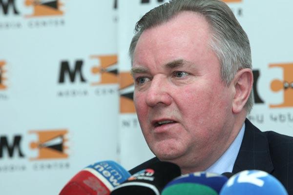 Ukrainian Ambassador to Armenia Ivan Kukhta