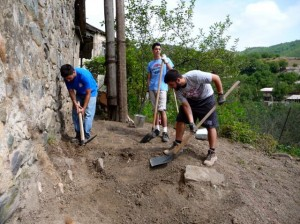 Unearthing Church Grounds