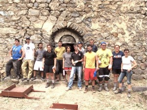 Volunteers Ready To Renovate