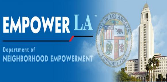 Empower LA City Department of Neighborhood Council