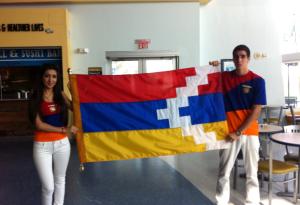 FIU Students Lusine Shahbazyan and Gevorg Shahbazyan