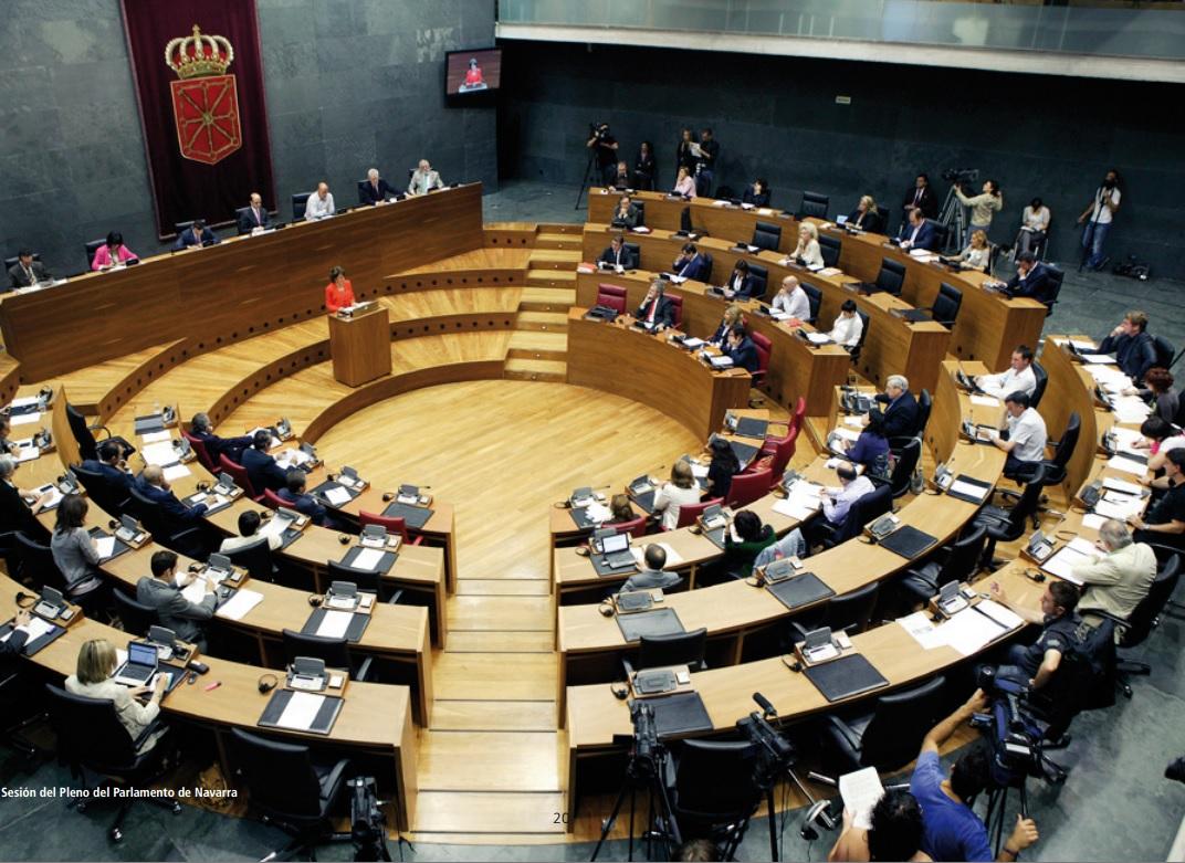 Navarre-parliament