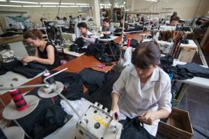 Seamstresses-Producing-New-Clothing