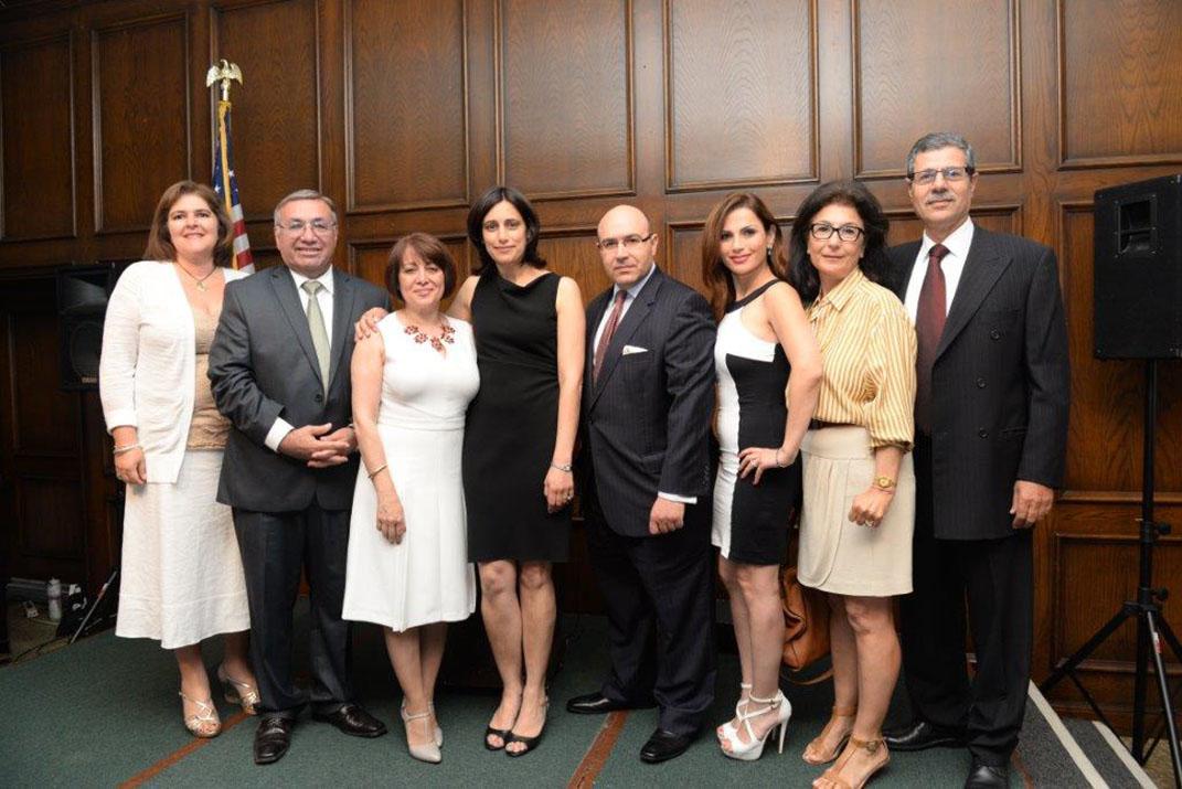Haigazian University Alumni Board with Joyce Naltchayan Boghosian