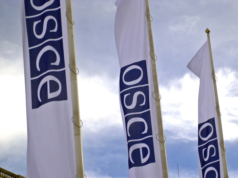 OSCE-flags