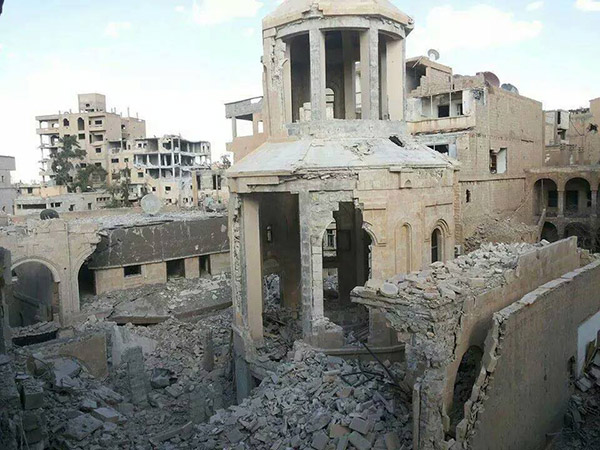 Deir-Zor-Armenian-Martyrs-Church-collapsed