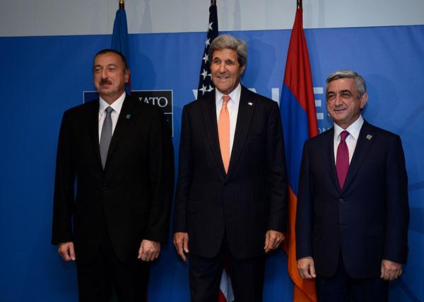 Sargsyan-Aliyev-Kerry