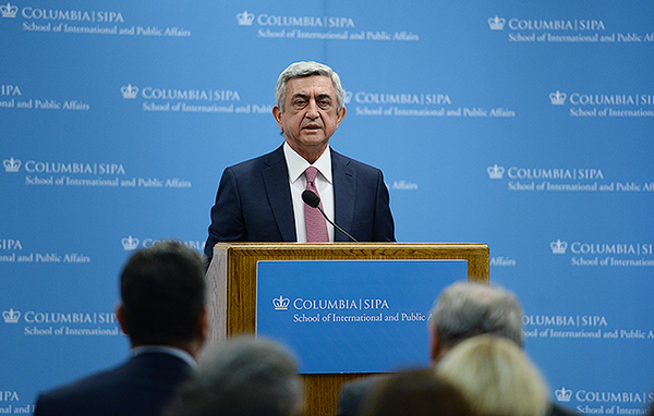 Serzh-Sarkisian-Columbia-University-1