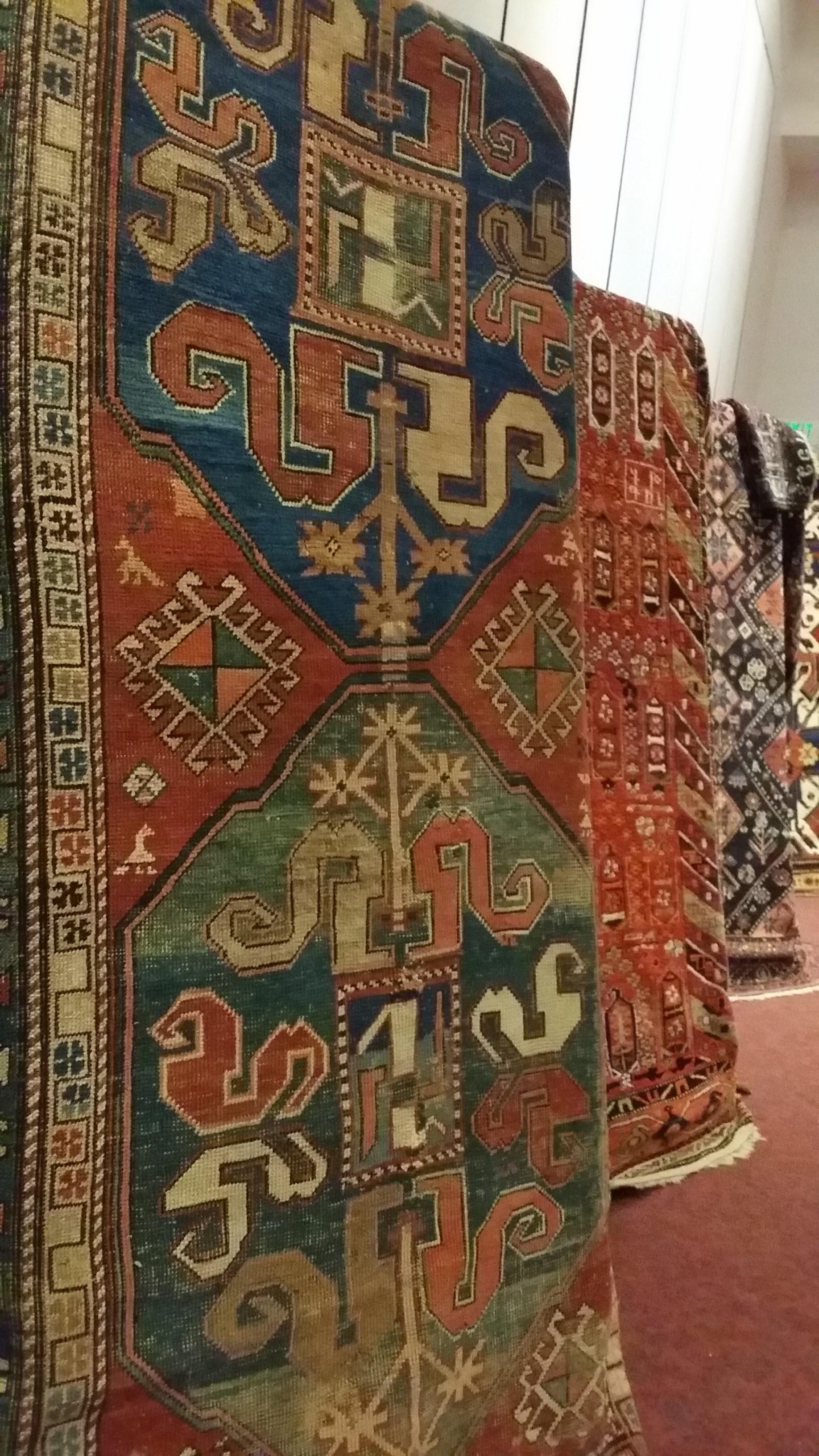 A traditional Armenian rugs
