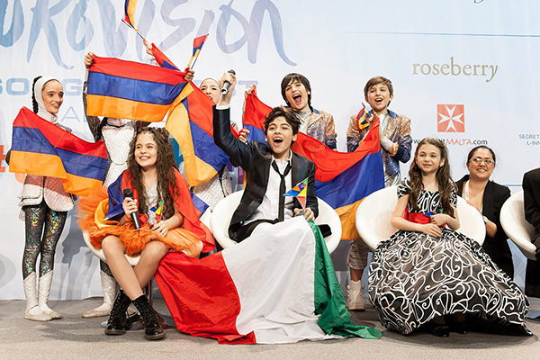 Junior Eurovision-2014 Top Three