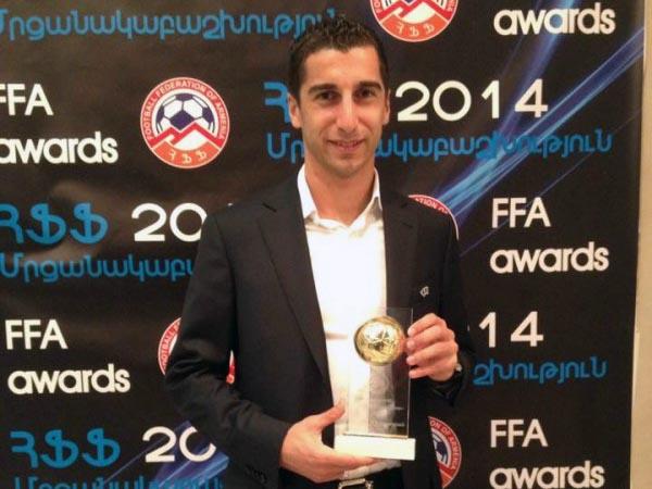 Mkhitaryan-award