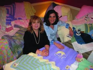 Nancy Burdman and Betty Cherkezian