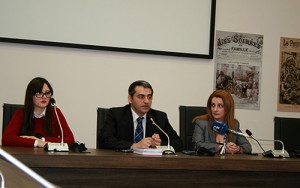 Deputy Director of the AGMI Suren Manukyan presented the manuals
