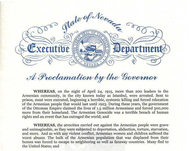 NV_ARMENIAN GENOCIDE PROCLAMATION2015-2