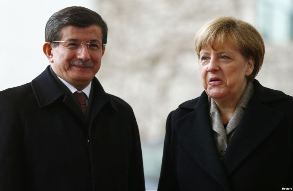 Davutoglu-Merkel