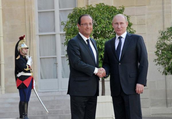 Putin-Hollande
