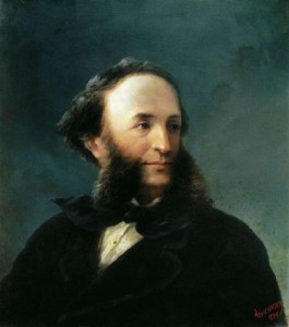 Aivazovsky Self-portrait 1874