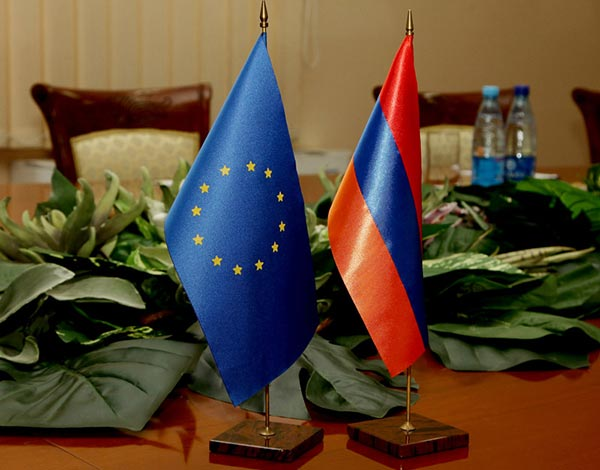 Armenia-EU-flags