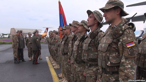 Armenian -Rapid Reaction-Troops