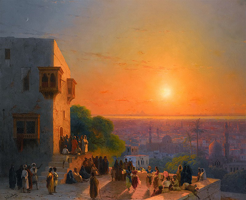 Evening-in-Cairo