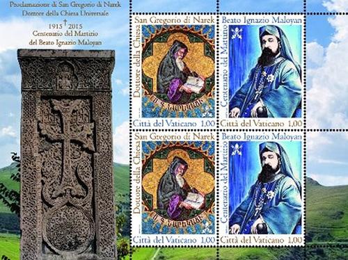 Vatican-stamps